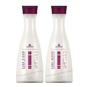Madame Lis - Escova Progressiva 2 Passos: Shampoo 1L e Reconstrutor 1L