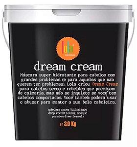 Lola Cosmetics - Dream Cream Máscara Super Hidratante 3Kg NOVA EMBALAGEM