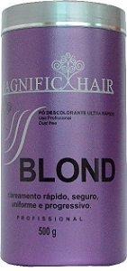Magnific Hair - Blond Pó Descolorante Ultra Rápido (Roxo)