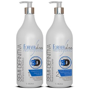 Forever Liss Escova Semi Definitiva Power 3D System - 2 x 1L