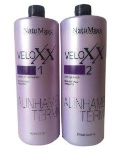 NatuMaxx – VeloXX Alinhamento Térmico Progressiva em Gel 2 passos