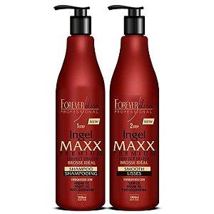 Forever Liss - Ingel Maxx Kit Escova Progressiva 2 Passos 1L cada