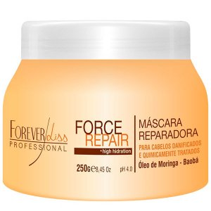 Forever Liss - Force Repair Máscara Reconstrução Capilar Home Care 250g