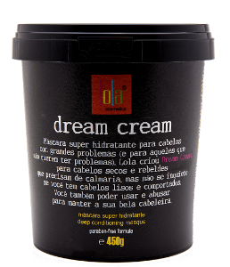 Lola Cosmetics - Dream Cream Máscara Super Hidratante 450g