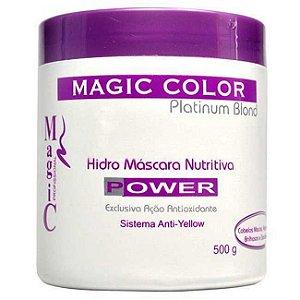 Magic Color - Platinum Blond Hidro Máscara Power 500g