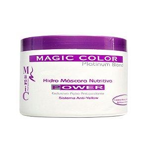 BAZAR: Magic Color - Platinum Blond Hidro Máscara Power 300g