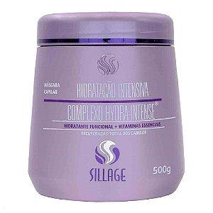 Sillage - Máscara Capilar Hidratação Intensiva Complexo Hydra Intense 500g
