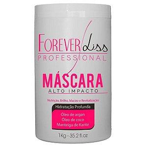 Forever Liss - Máscara de Hidratação Alto Impacto 1Kg