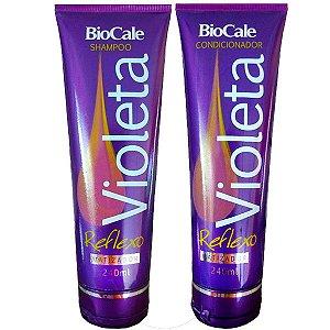 Biocale - Kit Violeta Reflexo Matizador Shampoo + Condicionador 2x240ml