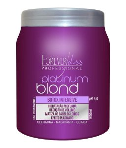 Forever Liss - Platinum Blond Redutor de Volume e Matizador Intensive 1Kg