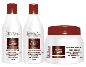 Forever Liss - Home Care Kit Antifrizz Shampoo + Condicionador 300ml + Máscara 250g
