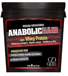 Anabolic Hair - Fortificante Capilar Máscara Fortalecedora Hidratante 250g