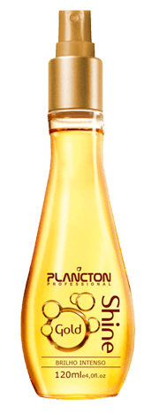 Plancton - Shine Gold Spray de Brilho Dourado Intenso 120ml VENCIMENTO ABRIL 2017