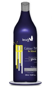 Leads Care - Colour TV Be Blond Shampoo Matizador 500ml - Validade 05/2019