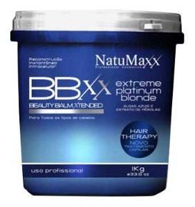 NatuMaxx - Extreme Platinum Blonde Reconstrução Instantânea Beauty Balm Xtended 1Kg