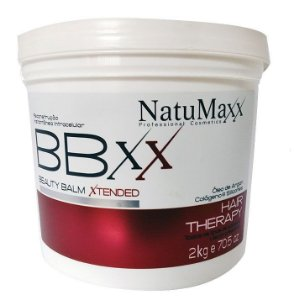 NatuMaxx - Beauty Balm Xtended 2Kgs Reconstrução Instantânea (Redutor de Volume)