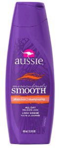 Aussie - Miraculously Smooth Shampoo Revitalizante Cabelos Crespos 400ml