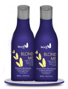 Leads Care - Blond Me Kit Manutenção Shampoo e Condicionador 300ml cd
