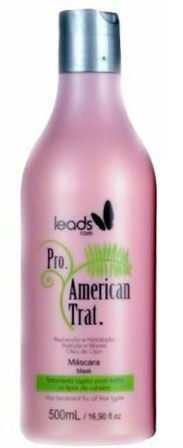 Leads Care - American Trat Máscara 500ml - Validade 04/2019