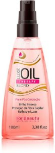 For Beauty - Luxe Oil Therapy Blond Pré e Pós Coloração 100ml