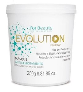 For Beauty - Evolution Máscara Anti Desbotamento Mechas e Luzes 250g