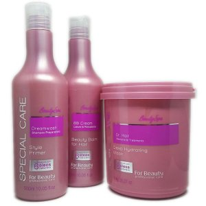 For Beauty - Special Care Beauty SPA! Kit Tratamento Shampoo, BB Cream e Máscara 1kg