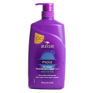 Aussie - Moist Shampoo de Hidratação 865ml