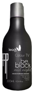 Leads Care - Colour TV Be Black Mid Night Máscara Tonalizante Cabelos Pretos 300ml