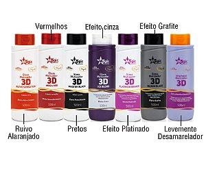 Magic Color - Kit Gloss 3D com 7 Matizadores 500ml cada - NOVA EMBALAGEM