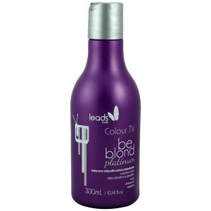 Leads Care - Colour TV Be Blond Platinum Matizador 300ml
