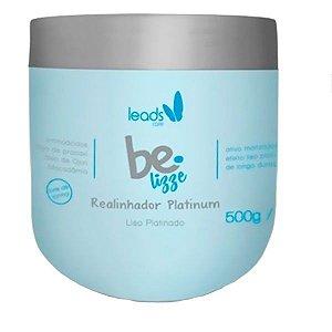 Leads Care - Be Lizze Platinum Realinhador Capilar 500g SEM FORMOL