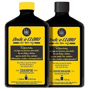 Lola Cosmetics - Onde o Cloro Não Tem Vez Kit Shampoo e Condicionador 250ml cada