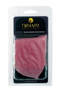 DiHair - Super Touca Romana de Silicone para Mechas sem regulagem (vermelha)