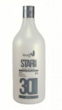 Leads Care - Star Color Platinum Hair Água Oxigenada 30 Vol 900ml