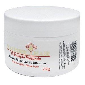 Magnific Hair - Máscara Branca Hidratação Intensiva de Argan 250g - Validade 01/2019