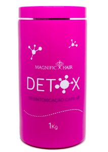 Magnific Hair - Detox Máscara Desintoxicação Capilar 1kg - Validade 11/2018