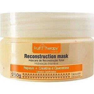 Left - Fruit Therapy Nano Papaya Mascara Cabelos Danificados 250g