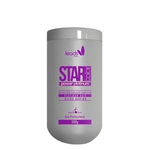 Leads Care - Star Color Pó Descolorante Power Platinum 500g