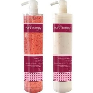 Left - Fruit Therapy Nano Romã Kit (Shampoo + Condicionador) Cabelos Coloridos 2x1000 ml