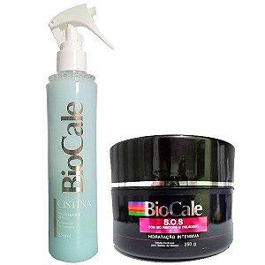 Biocale - Kit Cistina Pós Alisamento 250ml e SOS Máscara Hidratação Intensiva 250g