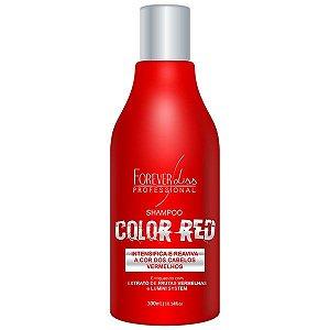 Forever Liss - Color Red Shampoo Manutenção Cabelo Vermelho e Ruivo 300ml