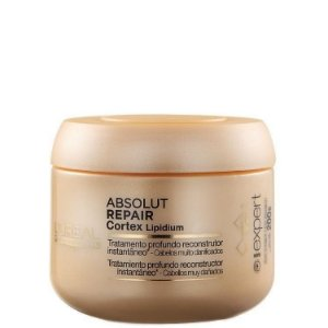 L'Oréal - Absolut Repair Cortex Lipidium Instant Reconstructing Masque (Máscara 200ml)