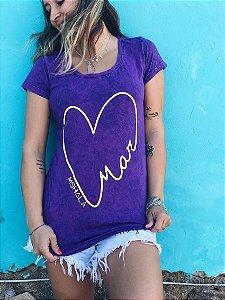 t-shirt roxa amar