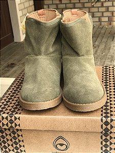 Low Boot Rustic Green