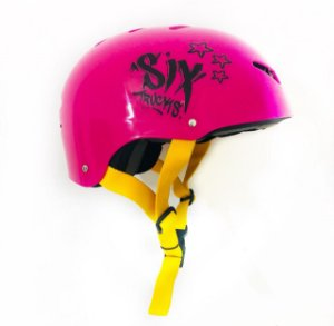 CAPACETE SIX TRUCKS JUNIOR - PP