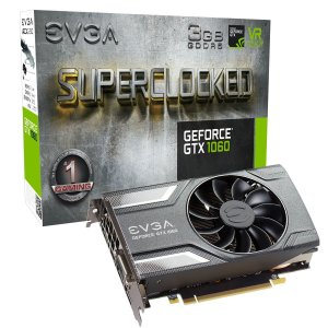 PLACA DE VIDEO GEFORCE GTX1060 GDDR5 3GB EVGA
