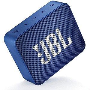 CAIXA DE SOM BLUETOOTH JBL GO 2 ORIGINAL AZUL