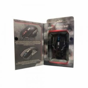 MOUSE GAMER BR-XS997GT S/FI0 DPI 1600