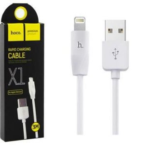 CABO RAPID CHARGING PARA APPLE IPHONE 3 METROS