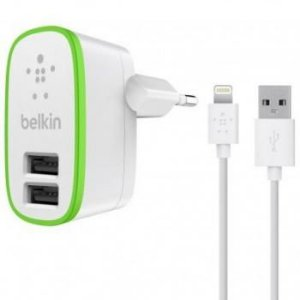 CARREGADOR LIGHTNING P/IPHONE BELKIN
